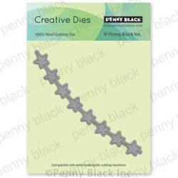 Penny Black String Of Stars Die