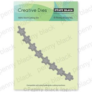 Penny Black String Of Stars Die