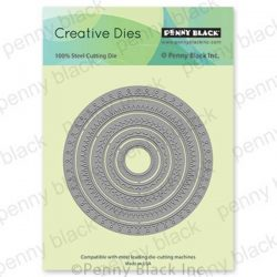 Penny Black Stitched Circles Die Set