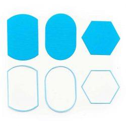 Pinkfresh Studio Essential: Basic Label Frames Die Set