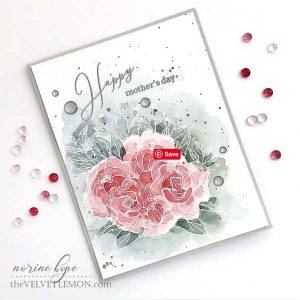 Pinkfresh Studio Blooming Bouquet Stamp Set class=