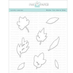 Ink To Paper Lovely Leaves Die