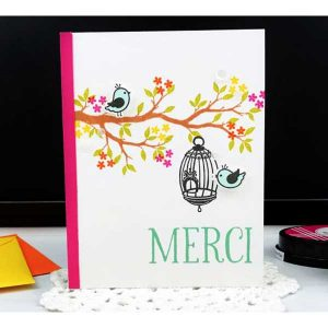 Ink To Paper Birdie Stamp Set class=