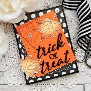 Ink To Paper To Die For Sentiments: Halloween Die class=