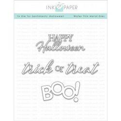Ink To Paper To Die For Sentiments: Halloween Die