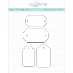 Ink To Paper Tagged & Labeled 1 Die Set