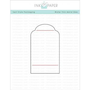 Ink To Paper Tent Style Packaging Die