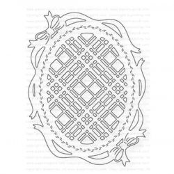 Papertrey Ink Shape Shifters: Oval 3 Die