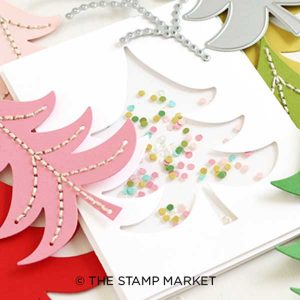 The Stamp Market Dotted Tree Die class=