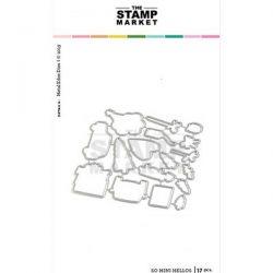 The Stamp Market So Mini Hellos Die Set