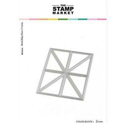 The Stamp Market Color Block 1 Die