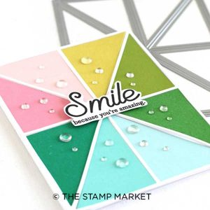 The Stamp Market Color Block 1 Die class=