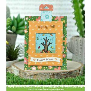 "Lawn Fawn Fall Fling Petite Paper Pack - 6"" x 6"" class="