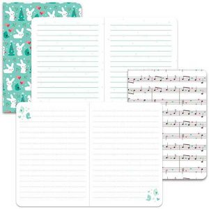 Lawn Fawn Snow Day Remix Mini Notebooks class=