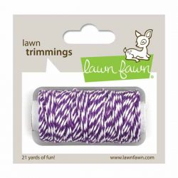 Lawn Fawn Trimmings Hemp Cord - Eggplant