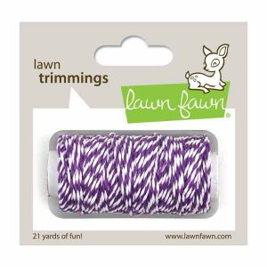 Lawn Fawn Trimmings Hemp Cord - Eggplant
