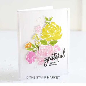 The Stamp Market Clear Droplets class=