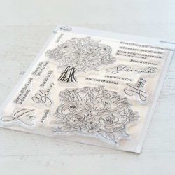 Pinkfresh Studio Blooming Bouquet Stamp Set