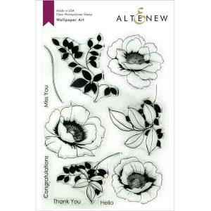 Altenew Wallpaper Art Stamp Set
