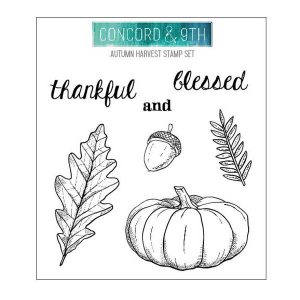 Concord & 9th Autumn Harvest Stamp Set