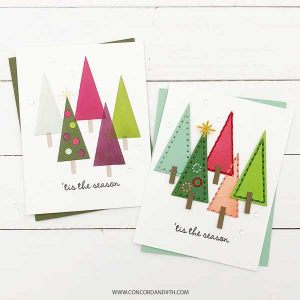 Concord & 9th Merry Shapes Stamp Set class=