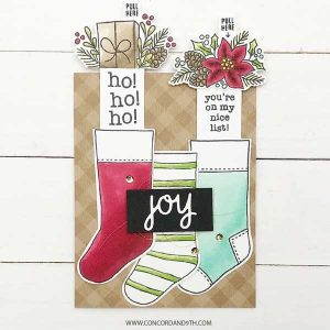 Concord & 9th Stocking Stuffers Stamp Set class=