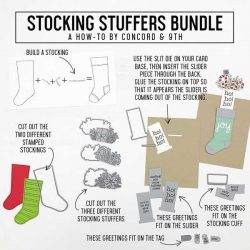 Concord & 9th Stocking Stuffers Stamp Set