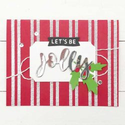 Concord & 9th Woven Stripes Background Stamp