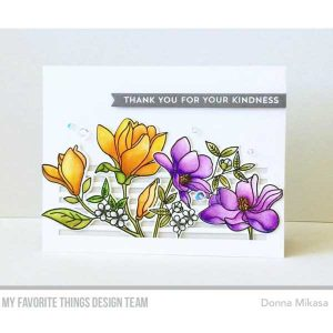 My Favorite Things Floral Focus Stamp Set class=