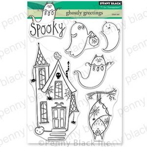Penny Black Ghostly Greetings Stamp Set