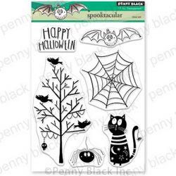 Penny Black Spooktacular Stamp Set