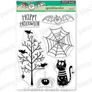 Penny Black Spooktacular Stamp Set