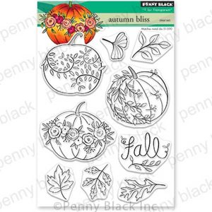 Penny Black Autumn Bliss Stamp Set