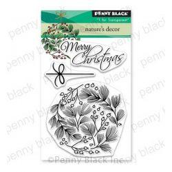 Penny Black Nature's Decor Stamp Set