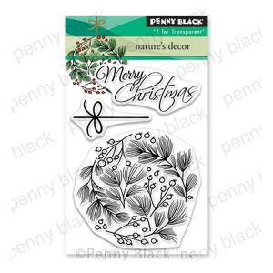 Penny Black Nature's Decor Stamp Set