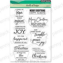 Penny Black Thrill Of Hope Stamp Set