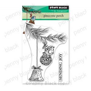 Penny Black Pinecone Perch Stamp Set