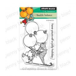 Penny Black Bauble Balance Stamp Set