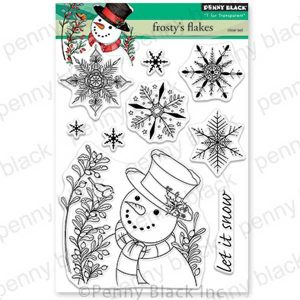 Penny Black Frosty's Flakes Stamp Set
