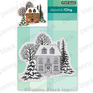Penny Black Warm Reception Cling Stamp