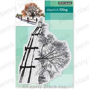 Penny Black Snow Blanket Cling Stamp