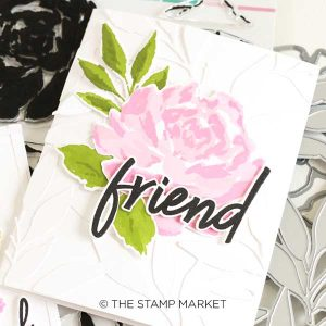 The Stamp Market Handpainted Rose Stamp class=