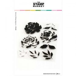 The Stamp Market Handpainted Rose Stamp