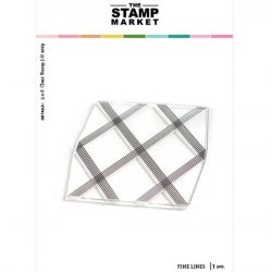 The Stamp Market Fine Lines Background Stamp