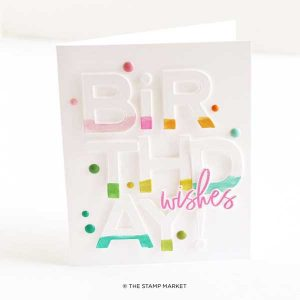The Stamp Market It's Your Birthday Stamp Set class=