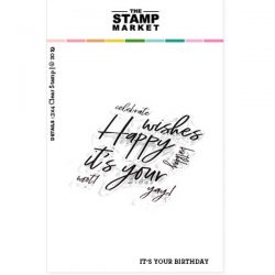 The Stamp Market It's Your Birthday Stamp Set