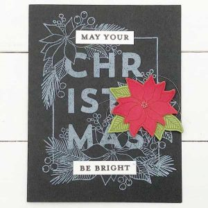 Concord & 9th Christmas Florals Stamp Set class=