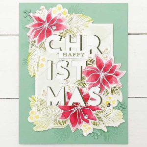 Concord & 9th Christmas Florals Dies class=