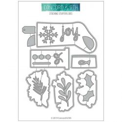 """Concord & 9th Stocking Stuffers Dies <span style=""""color:red;"""">Reserve-more on the way</span>"""