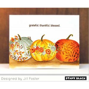 Penny Black Autumn Bliss Stamp Set class=